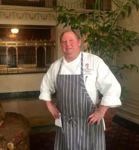 Josh Bettis, former executive chef at the Brown Hotel. | Photo by Rick Redding