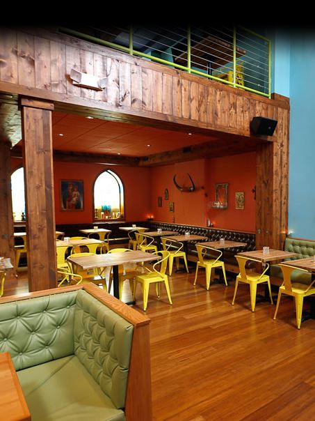 We'll miss this space: the dining room at El Camino. Photo courtesy of El Camino