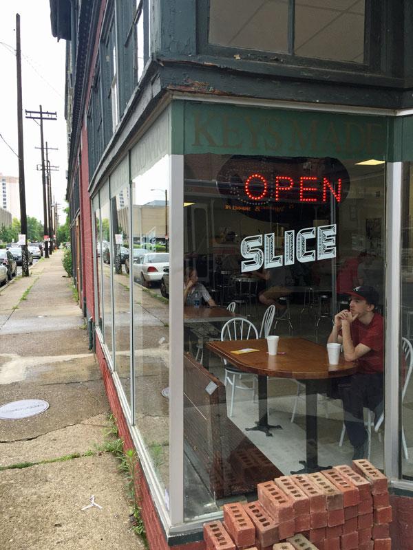 Slice's 2nd St. storefront. | Photo by Rick Redding