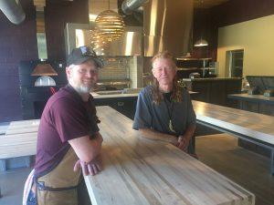 Jay Denham and Bob Hancock say Red Hog is the culmination of an eight-year dream