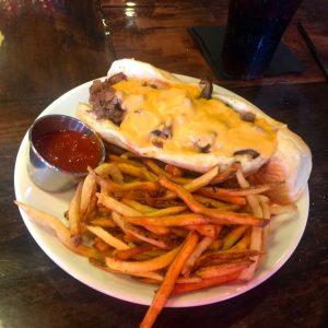 The Ville(y) Steak Sandwich at Old Louisville Tavern