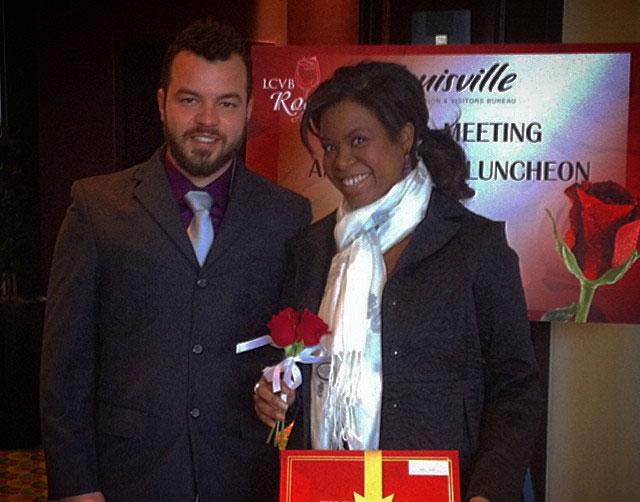 Varanese sous chef Tom Wilburn with former Varanese bartender, Felicia Corbett in 2014.