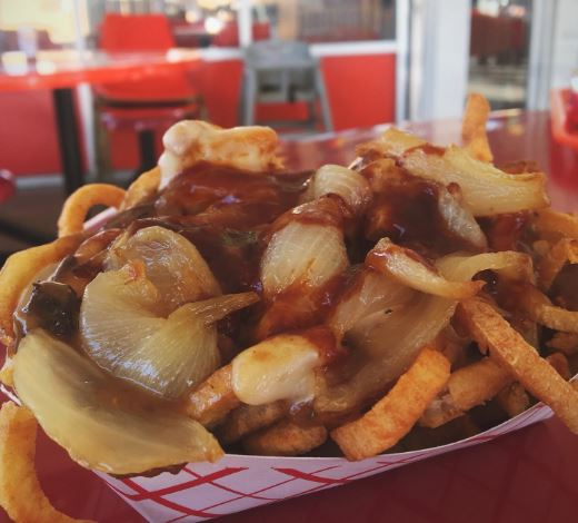 Top Round Dirty Fries. | Photo courtesy of Top Round Roast Beef