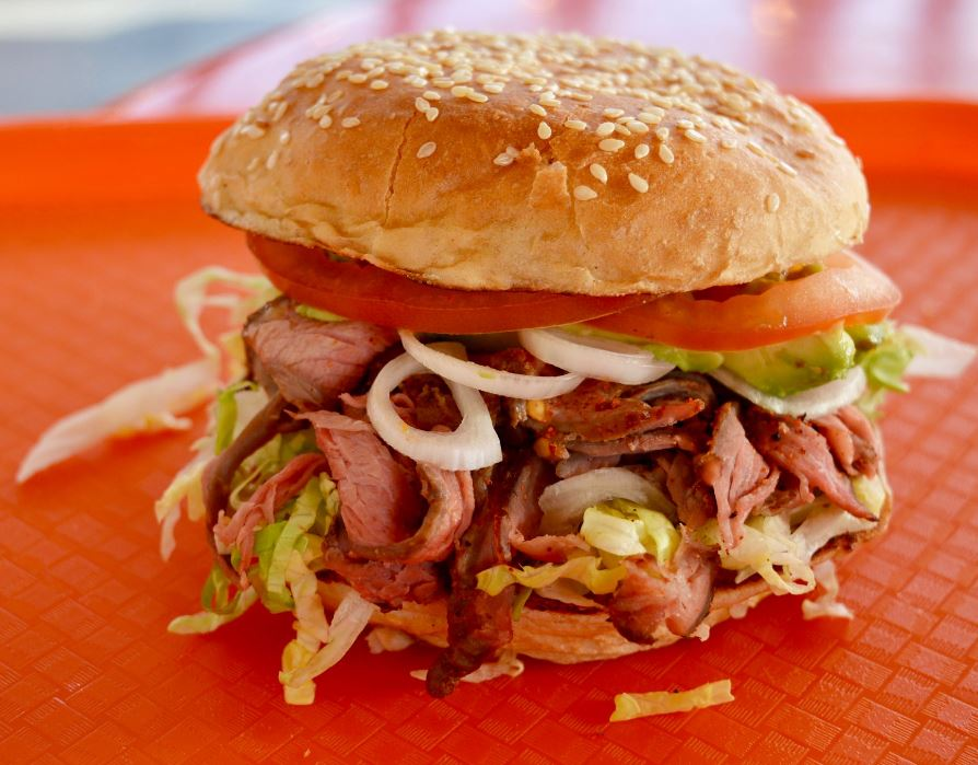 One of 7 roast beef sandwiches served here. | Photo courtesy of Top Round Roast Beef